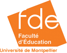 faculte education montpellier Logo