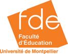 faculte education montpellier Logo